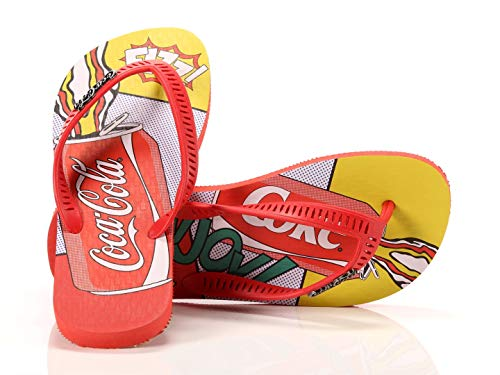 Coca Cola Shoes Tongs pour homme, Late, Rouge, 41/42