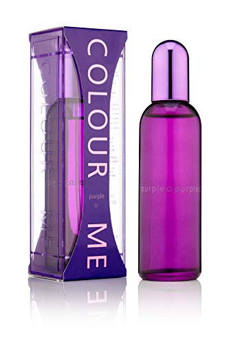 Colour Me | Purple | Eau de Parfum | Perfume Spray | Womens Fragrance | Chypre Fruity Scent | 3.4 oz
