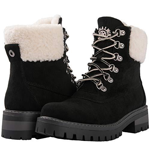 GLOBALWIN Women's 1912 Black Winter Fashion Ankle Boots 9M