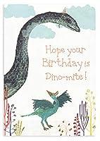 ロジャーラボード グリーティングカード (恐竜×首長竜) バースデーカード 誕生日 GC2141