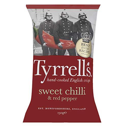 Tyrrell's Sweet Chilli und Red Pepper 150 g, 12er Pack (12 x 150 g)