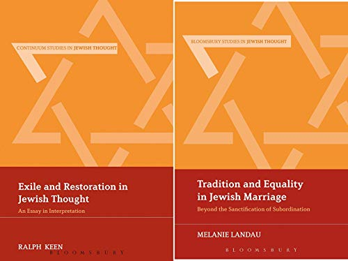 Continuum Studies in Jewish Thought (2 Book Series)