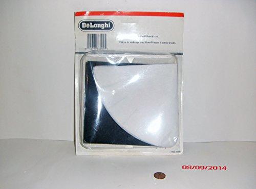 Delonghi FK-9 Deep Fryer Filter Kit, includes 3 oil vapor, 3 paper & 3 charcoal filters