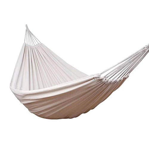 FENGSZ Hammock Rollover Prevention Camping Canvas Hanging Swing,200 X 150Cm,Load Capacity Up To 300Kg,For Outdoor,Yard,With Accessory