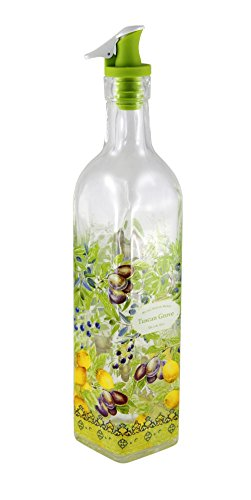 Grant Howard Tuscan Grove Oil and Vinegar Cruet, 16 oz.