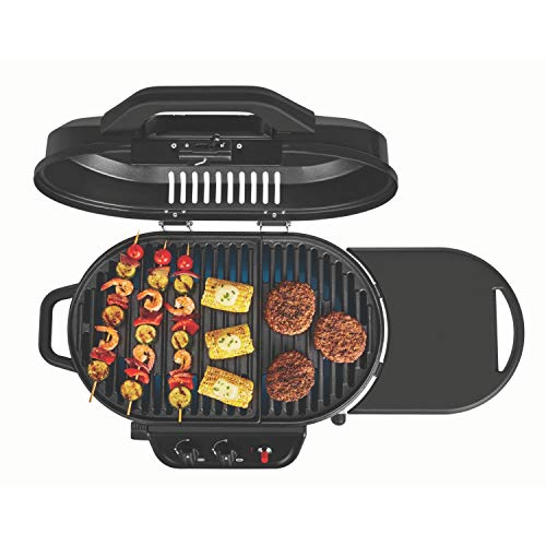 Coleman Coleman RoadTrip 225 Portable Stand-Up Propane Grill, Black