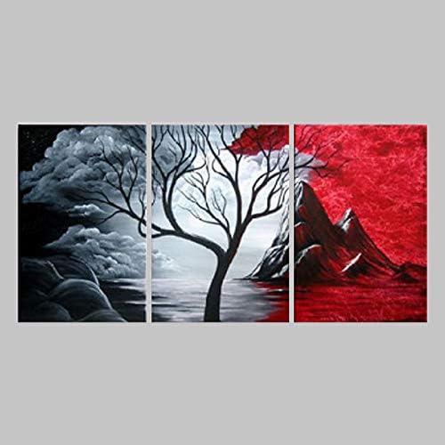 JINTAIYANG Peinture à l'huile 100% Peint à La Main Peinture à l'huile Abstraite Toile Traditionnelle Toile Art Mur Salon Chambre Décor à La Maison