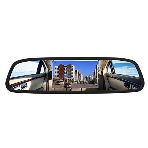 ROGF Dash CamMonitor De Espejo De DVD De La Vista Posterior De La Vista Posterior del LCD del Coche De TFT De 4.3 Pulgadascámara Inalámbrica