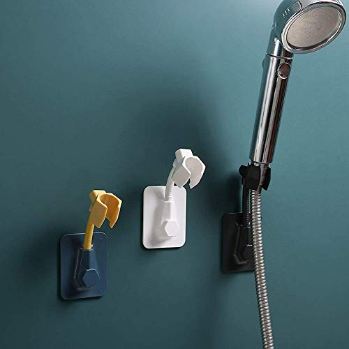 SELLER ZONE Shower Head Holder 1Pcs Adjustable Self-Adhesive, Shower Arm, Wall Mounted Handheld Shower Holders for Bathroom (Multi, Pack Of 1 Pcs)