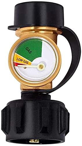 BBQ Gasdruckmesser Manometer, Propan Kraftstofftank Messgerät, Gas Niveau Indikator, Universal Gasflasche Füllstandsanzeige Korrosions- Und Kratzfestigkeit Zur Verwendung Mit Gasgrills