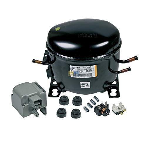 Kompressor R134A 1/4PS Aspera Kühlschrank 481236038932 Whirlpool Bauknecht