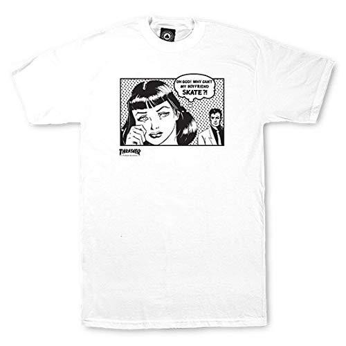 THRASHER T-Shirt Boyfriend WH S