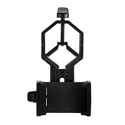 Chunyang Binocular Handy-Standplatz-Halter Binocular Handy Mikroskopstativ Spektiv Teleskop Clip Lager Adapter