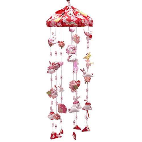 つるし雛 つるし飾り 吊るし飾り 吊るし毬 吊るし雛 傘福 雛具 さげもん 雛人形 ひな人形 桃の節句 高さ60cm