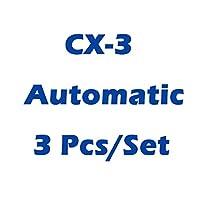 TTCR II車は、MAZDA 2/3/6 / CX 3 / CX 5 / CX 9 Axela Atenza、オートスポーツプレートデコレーションアクセサリー用のガスフットレストペダルパッドを修正しました