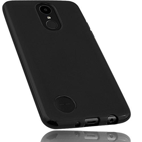 mumbi Hülle kompatibel mit LG K4 Handy Hülle Handyhülle, schwarz