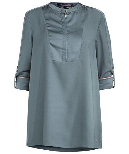 Tommy Hilfiger Damen Nicole Blouse LS Bluse, Grün (Balsam Green-PT 314), 36 (Herstellergröße: 6)