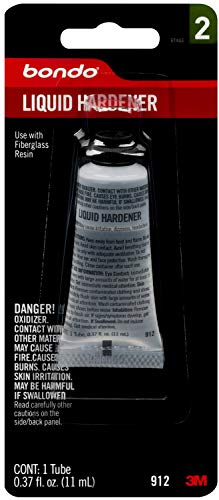 Bondo Liquid Hardener, 00912, .37 oz