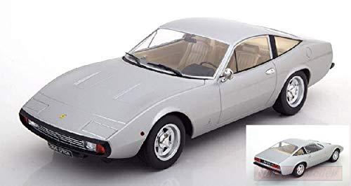 KK Scale KKDC180283 Ferrari 365 GTC4 1971 Silver 1:18 MODELLINO Die Cast Model Compatible con