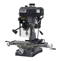 JET JMD-18 350018 230-Volt 1 Phase MillingDrilling Machine