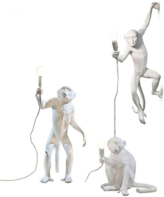 5151BuyWorld Lampe Creativesign Moderne Harz Vintage Hanf Affe Loft Seil Pendelleuchte Für Hausbeleuchtung Bar Cafe Retro Hngen Pendelleuchte Top Qualitt {Tischlampe}