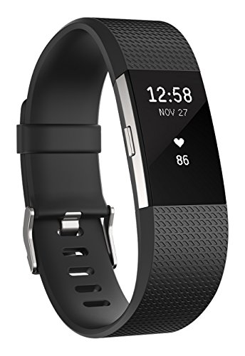 Fitbit Charge 2 Heart Rate Plus Fitness Wristband, Teal, Small