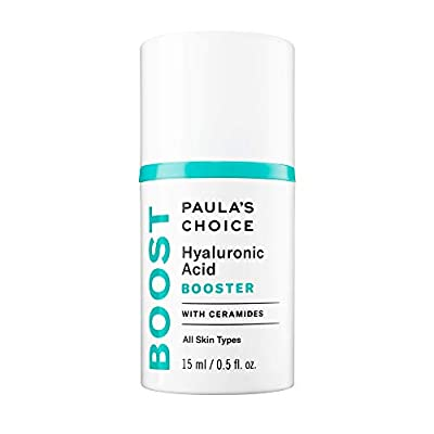 Paula's Choice BOOST Hyaluronic Acid Booster with Ceramides, Skin Hydration Serum, 0.5 Ounce