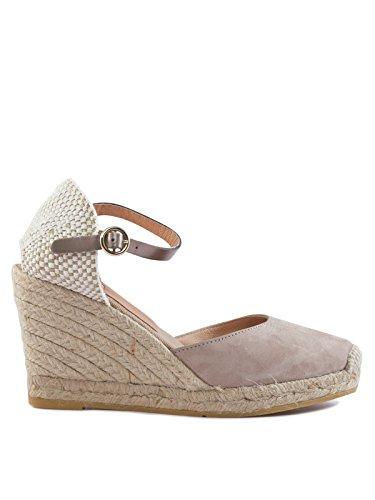 Kanna Damen Sandaletten 41 Hellbraun