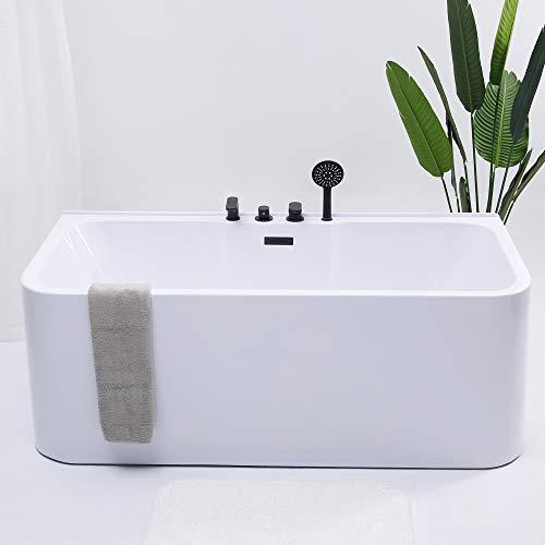 Bañera de acrílico con grifo, 150 cm, 160 cm, 170 cm, 180 cm