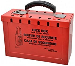 Master Lock 498A Safety Series Steel Group Lock Box, 9 1/4
