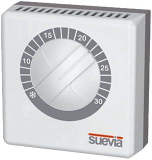 Visto-termostato ambiente con membrana de gas para calefacción y aire acondicionado sistemas Termo efectivamente Suevia