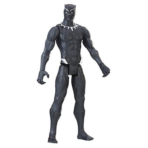 Black Panther- Figura Titan Hero, Multicolor, 30 cm (Hasbro E1363EU4)