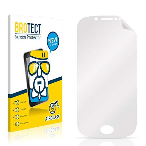 BROTECT Panzerglas Schutzfolie kompatibel mit Wiko Sublim - AirGlass, extrem Kratzfest, Anti-Fingerprint, Ultra-transparent