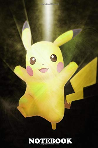 "Notebook: First Generation Of Super Smash Bros Pikachu , Journal for Writing, College Ruled Size 6"" x 9"", 110 Pages"