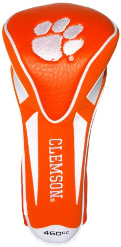 Team Golf NCAA Clemson Tigers Golf Club Single Apex Driver Headcover, Fits All Oversized Clubs, Truly Sleek Design