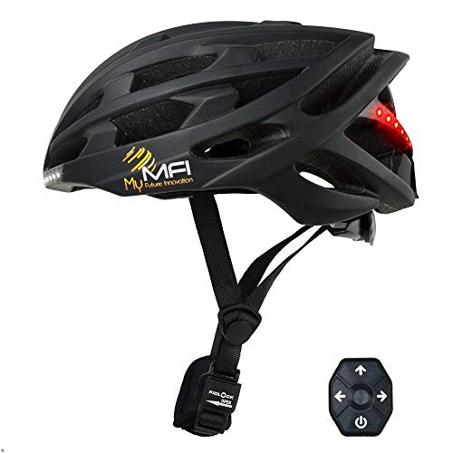 My Future Innovation Lumex Pro Helmet 3760250941672 Unisex adulto, Nero, M