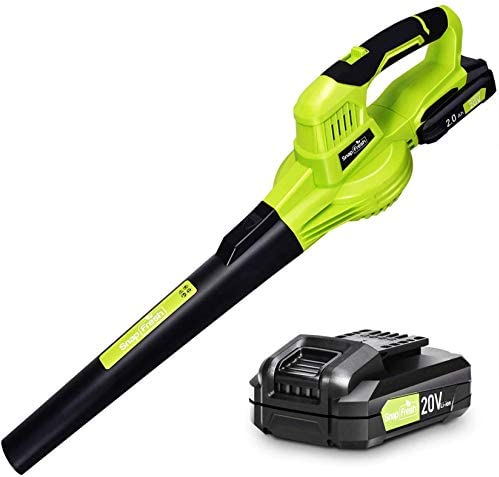 Leaf Blower 20V Leaf Blower Cordless with Battery Charger Electric Leaf Blower for Lawn Care product image