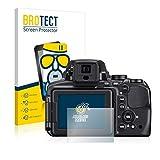 BROTECT Protector Pantalla Cristal Mate Compatible con Nikon Coolpix P900 Protector Pantalla Anti-Reflejos Vidrio, AirGlass