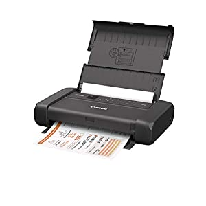 Canon PIXMA TR150 Wireless Mobile Printer with Airprint and Cloud Compatible, Black + Canon LK-72 Battery Pack…