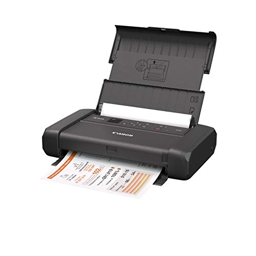 Canon Pixma TR150 - Impresora móvil inalámbrica con Airprint y Cloud, Color Negro