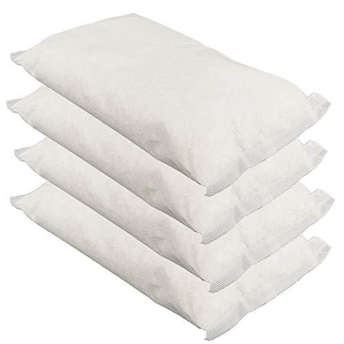 Universal Luftentfeuchter Granulat nachfüllpack im Vliesbeutel - Nachfüllpackung je 1,2kg für Raumentfeuchter - Keller-Trockner Anti Feuchtigkeit 4 x 1,2kg = 4,8kg