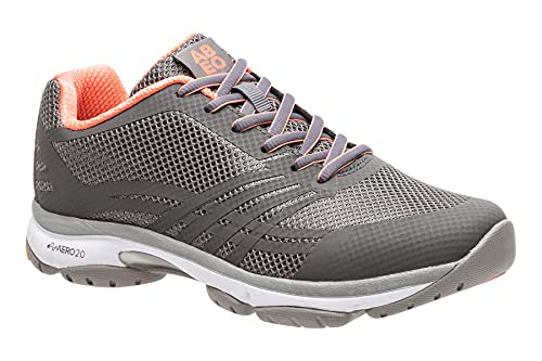 Diamond II - Wide Athletic Shoes in Gray Coral Size: 9