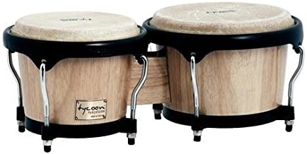 Tycoon Percussion 7 Inch & 8 1/2 Inch Artist Series Bongos - Natural Finish