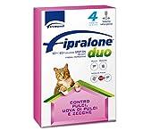 FIPRALONE Duo 4 Pipette - Gatto - Offerta 2 Confezioni