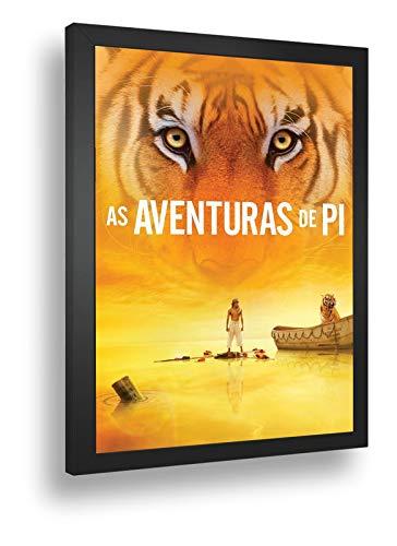 Quadro Decorativo Poste As Aventuras De Pi Tigre Classico