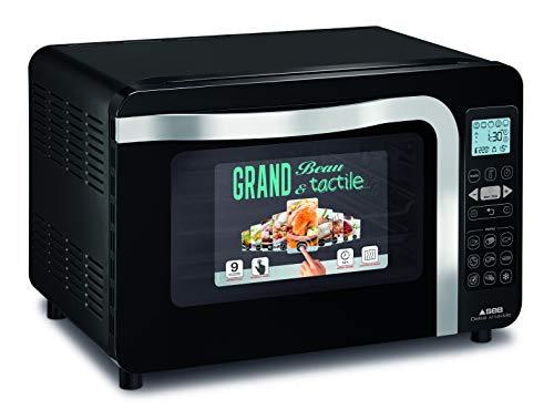SEB New Delice XL Mini Four tactile, Ecran LCD, 5 modes de cuisson, 9 programmes, Grille, Lèche frites OF285800
