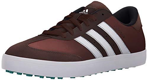 adidas Herren Adicross V Golf Spikeless Schuh, Braun - Braun Weiß Eqt Grün - Größe: 46 EU