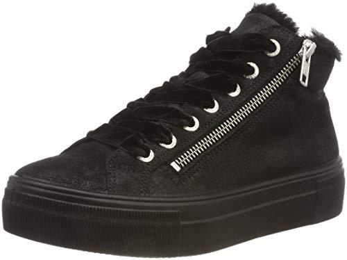 Legero Damen Lima Hohe Sneaker, Schwarz (Schwarz 00), 36 EU