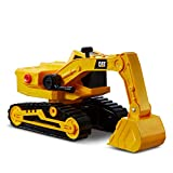 Caterpillar, Excavadora 30cm L&S Tough Power Vehículos de construcción, Color Amarillo (...