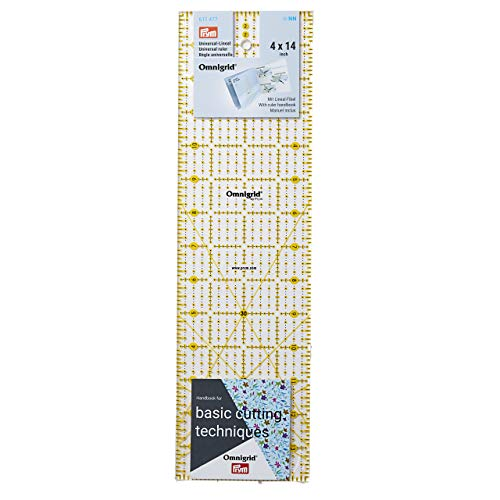 Prym Universal Ruler, 4 x 14 Inch Grid